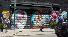 A little Bernie Sanders love! - Politics gets colorful on the Lower East Side Photo by Judith Lindbergh — National Geographic Your Shot Lower East Side, Lindbergh, Bernie Sanders, National Geographic Photos, Your Shot, Amazing Photography, Shots, Politics, Colorful