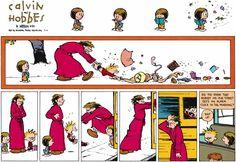 Calvin and Hobbes strip for September 6, 2015