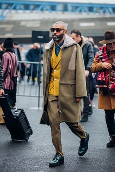 Street looks from Paris Menswear Week Fall/Winter 2016-2017: Fashion week homme | Vogue Paris