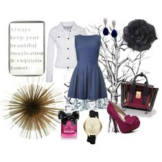 Designer Clothes, Shoes & Bags for Women Hair Styles, Polyvore, Stuff To Buy, Outfits, Clothes, Beauty, Collection, Design, Women