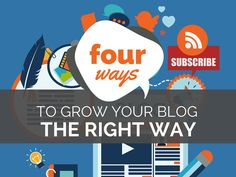 How to Grow Your Blog (the Right Way) - @rebekahradice
