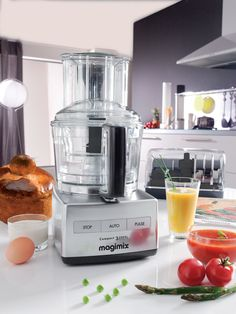 Magimix Cuisine Systeme Blendermix Food Processor - Satin - One Colour - Bread Cloche, Egg Whisk, Home Gadgets, Good Housekeeping, Food Preparation, One Color, Colour, Food Processor Recipes, Catering