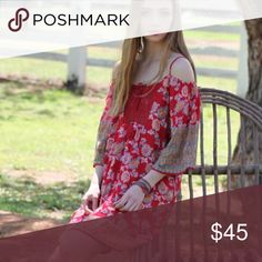 Cold shoulder sundress Cute ethnic print boho sundress. Cotton.  S 2-4 M 6-7 L 10-12 Angie Dresses Mini