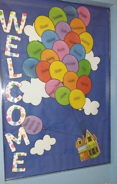 ROI teacher, Dearbhlá, made this gorgeous display for her students. Each balloon has a child's name on. Click visit to download the pack