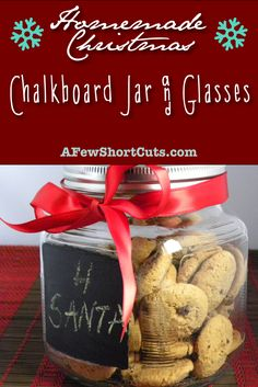 It's that time of year when I am looking for Homemade Christmas gifts for friends and famil ...