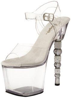 944612504c6c Pleaser Women s Dice-708 C M Platform Sandal     Awesome product · Platform  Wedge SandalsSlide ...