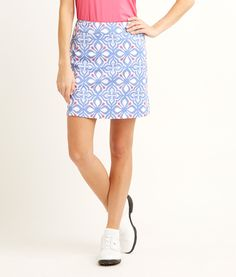 Shop Whale Tail Print Skort With Pocket at vineyard vines