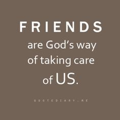 Thank you Lord for giving me such wonderful friends…