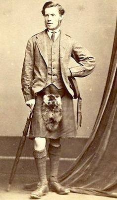 Inverness photo scottish vintage highland wear and antique kilt accessories