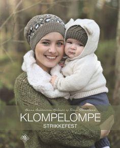<strong>BOKA:</strong> Oppskriften er hentet fra boka Klompelompe Strikkefest som kom i august på JW Stenersen forlag. Baby Knitting, Winter Hats, Crochet Hats, Sweater, Decor, Diy, Crafting, Easy Crochet Projects, Baby Favors