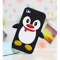 Wish they made a penguin otter box so my phone would be cute and safe