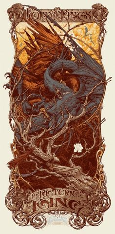 Mondo Lord of the Rings Poster