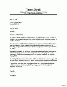 Cover Letter Template Jobs | Cover Letter Template | Pinterest ...