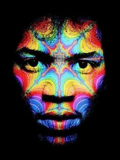 "PSYCHEDELIC JIMI HENDRIX  ""Are you experienced?""  I'm so grateful I got a chance to hear him several times before he left us!"