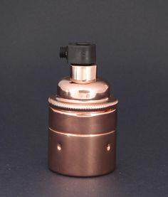 E27 LIGHT BULB HOLDER | Polished Copper