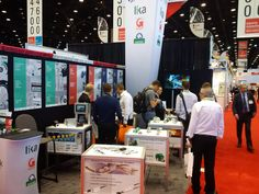 Lika's booth E-4354 at #IMTS in #Chicago. Photo from Day 1