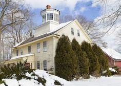 """The historic """"Widows Walk"""" home in Scarborough, Maine prior to its demolition on March 21, 2013 . . . a sad loss for Maine's architectural history."""