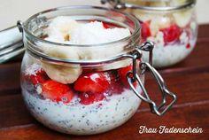 Leckeres und gesundes Frühstück mit Overnight Oats