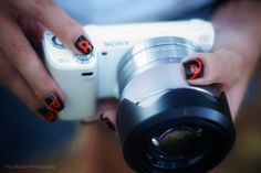 Sony Alpha NEX nails
