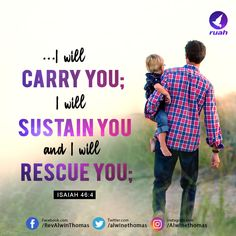 Isaiah 46:4 (NIV) #dailybreath #ruah #ruahchurch #promiseverse #promiseoftheday #carry #sustain #rescue