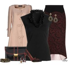 """Pink and Burgundy Contest 2"" by kginger on Polyvore"