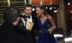 We peak behind the curtain of the Oscars to catch the intimate moments you didn't see on TV.