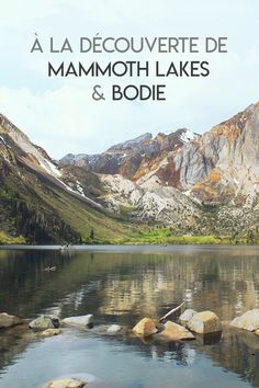 USA : Mammoth Lakes et la ville fantôme de Bodie - Sundaystorms Voyage Road Trip Usa, West Usa, Monument Valley, North And South, American National Parks, Mammoth Lakes, Blog Voyage, Parcs, California Travel