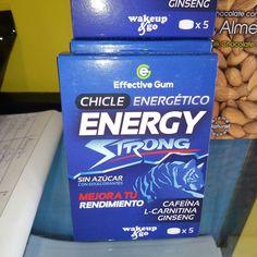Chicles energéticos sin azúcar Todo esto y más en www.ironcansport.com