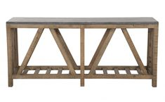 Manor Console - Tables - Furniture | Jayson Home. Love the blue stone.  $1500