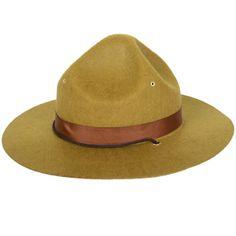 Khaki Scout Hat Pk 1 - Fancy Dress Hats - Buy Online