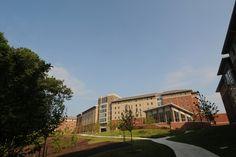 Eastern Shore residence halls. Photo courtesy of Creative Services, George Mason University