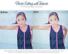 Learn how to add textures to your photos in Photoshop & PSE.  {via iHeartFaces.com}