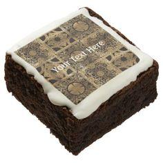 #Falln Lament Spread Chocolate Brownie - #halloween #brownies #sweets #goodies