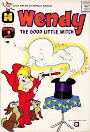 Casper And Wendy Comic Book