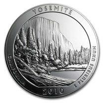 2010 5 oz Silver ATB Yosemite National Park, CA