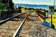 Local RR Tracks. Livermore, CA #Nikon #Photos #Art #photography @Livermore Downtown