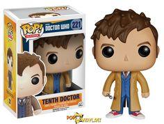 Dr Who - 10th Doctor - Funko Pop vinyl.