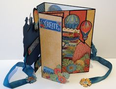 annes papercreations: Graphic 45 World's Fair Card With Free Template