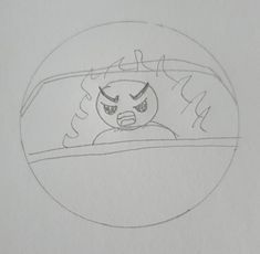 In this sketch i used a person in a car, viewing him with angry features such as his facial expression and narrow eyebrows with flames to define his rage. Ill be trying to use this expression on an object that relates to the road and with vehicles. Facial Expressions, Rage, Eyebrows, Sketch, Vehicles, Sketch Drawing, Eye Brows, Eyebrow, Sketching