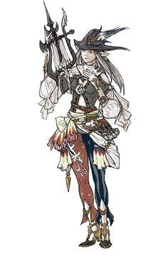 Bard Female from Final Fantasy XIV: A Realm Reborn
