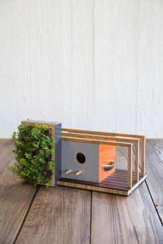 The Mixed Media House combines elements of Eichler, Frank Lloyd Wright, and The Bauhaus Image via E. Spencer Toy/Sunset Publishing