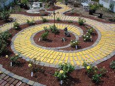 My future yellow brick road garden.