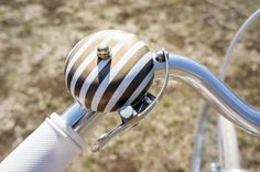 Striped Bicycle Bell | 40 Rad Bike Gadgets