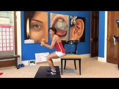 A Challenging HIIT Workout with a Chair, Total Body Workout #229 - YouTube