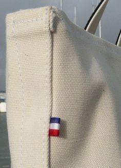 French flag on each bag...