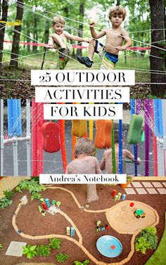 25 Outdoor Adventure Activities for Kids