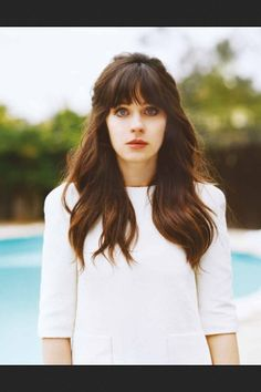Zooey Deschanel's hair is painfully amazing.