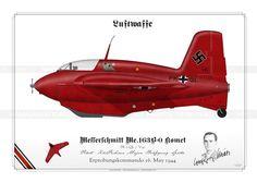 "Me.163B-0 ""Komet"" PK+QL Späte SR-18"
