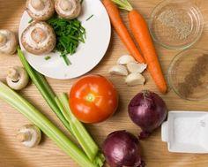 Eenvoudig groentebouillon maken