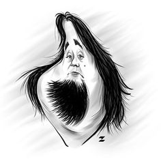 #Chumlee #caricature #Austin #Russell #PawnStars #drawing #sketch #illustration #tomajestic #Tomislav #Zvonaric #deviantom